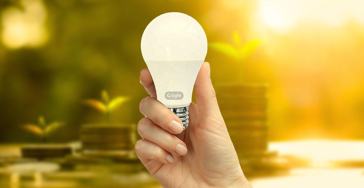 Economize energia utilizando l mpadas de led da g light