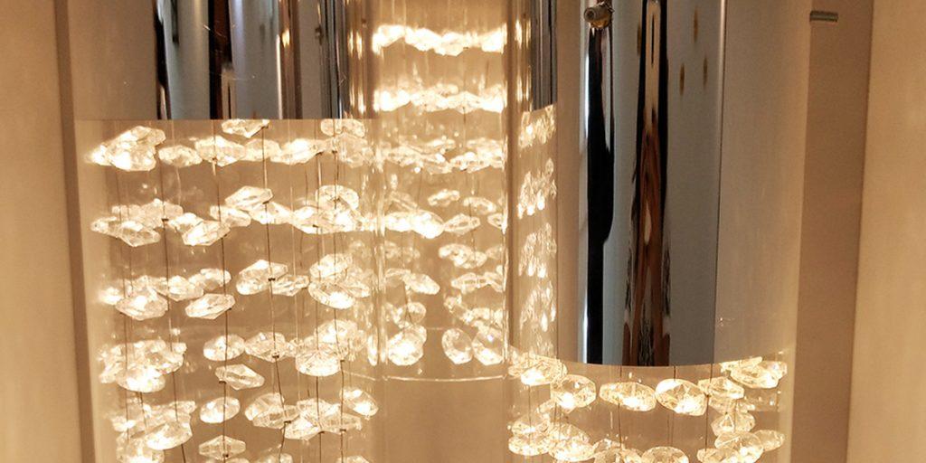 cupula-transparente-lampada-led