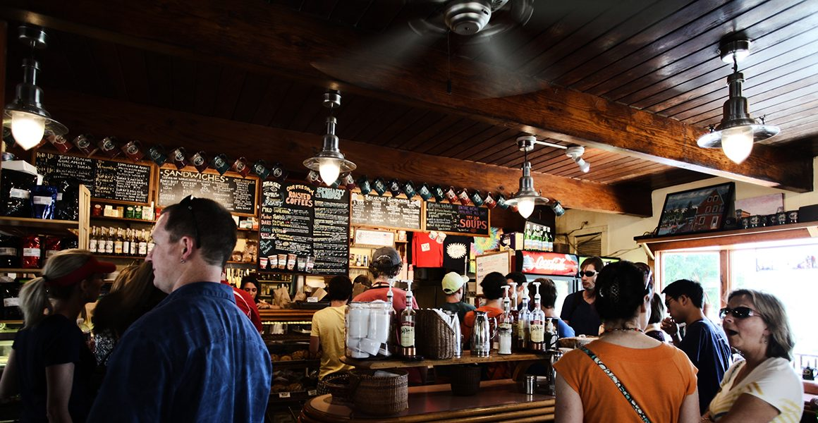 iluminação para bares e restaurantes