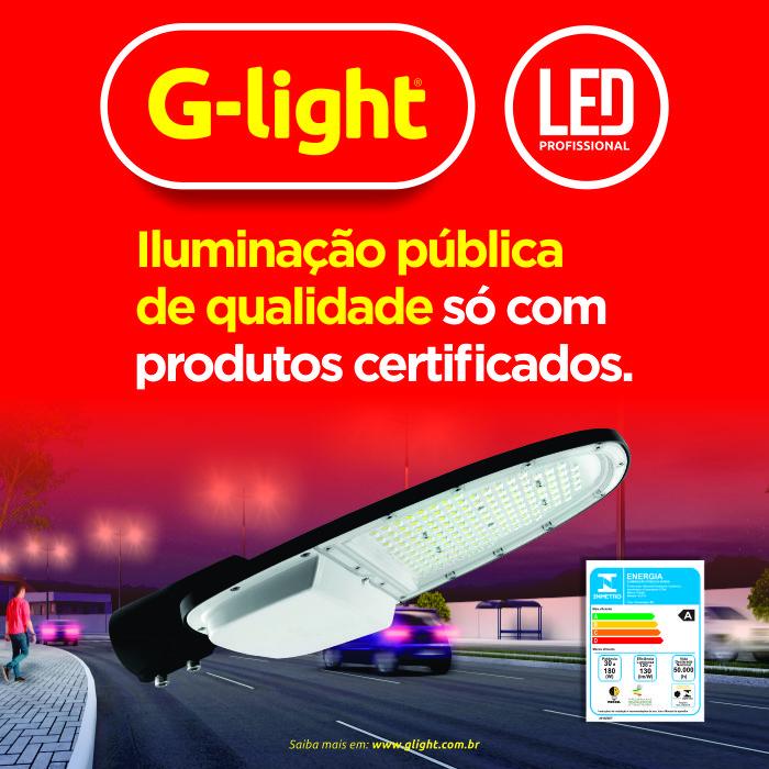 iluminação pública gl 216 glight
