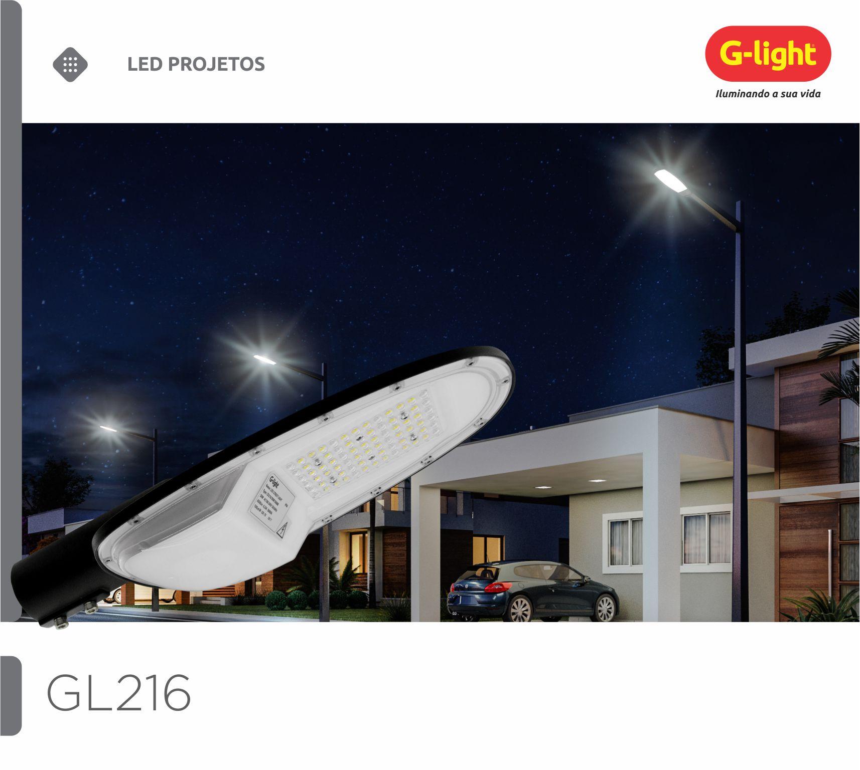 Luminárias Públicas GL216
