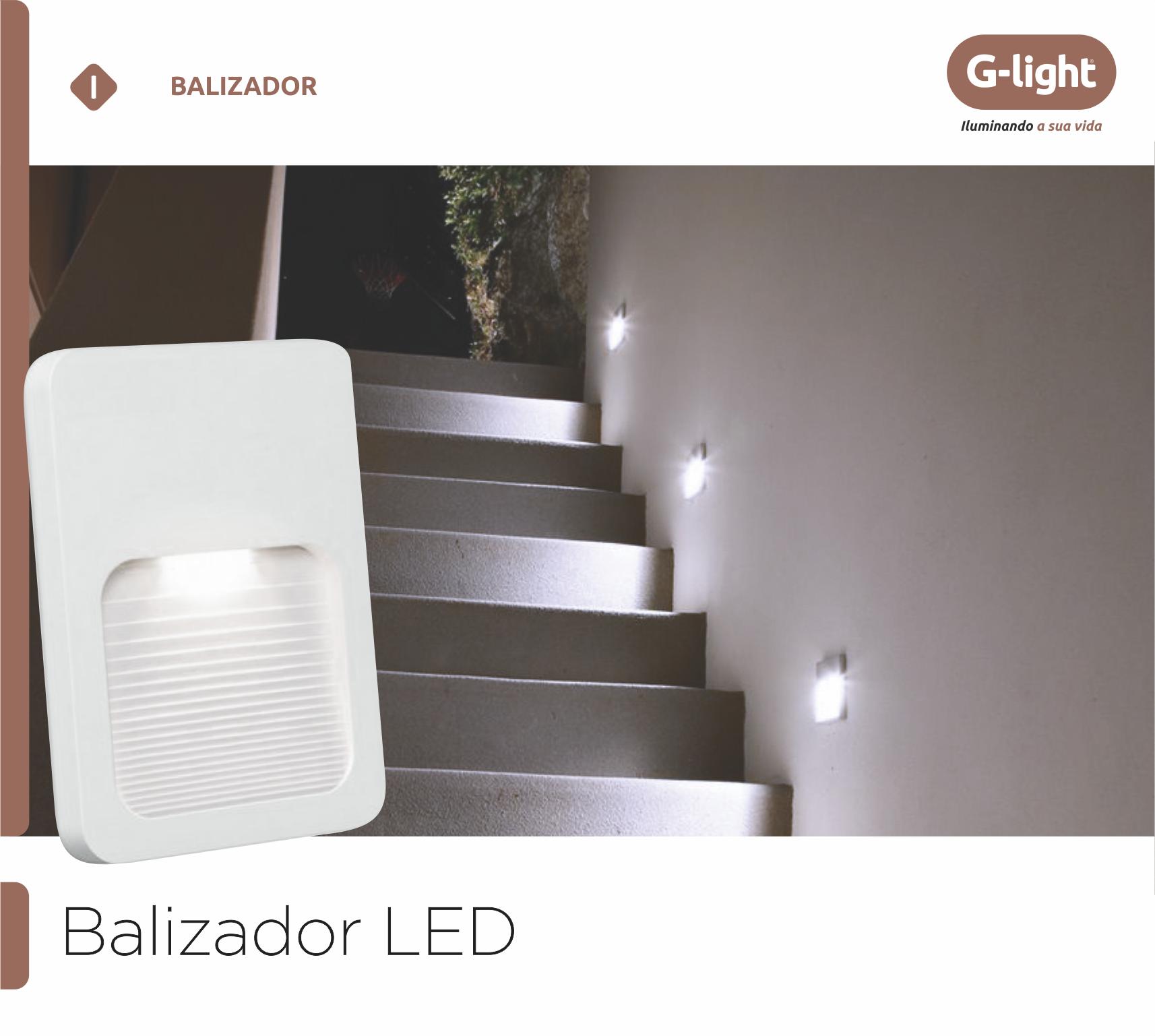 Balizador LED