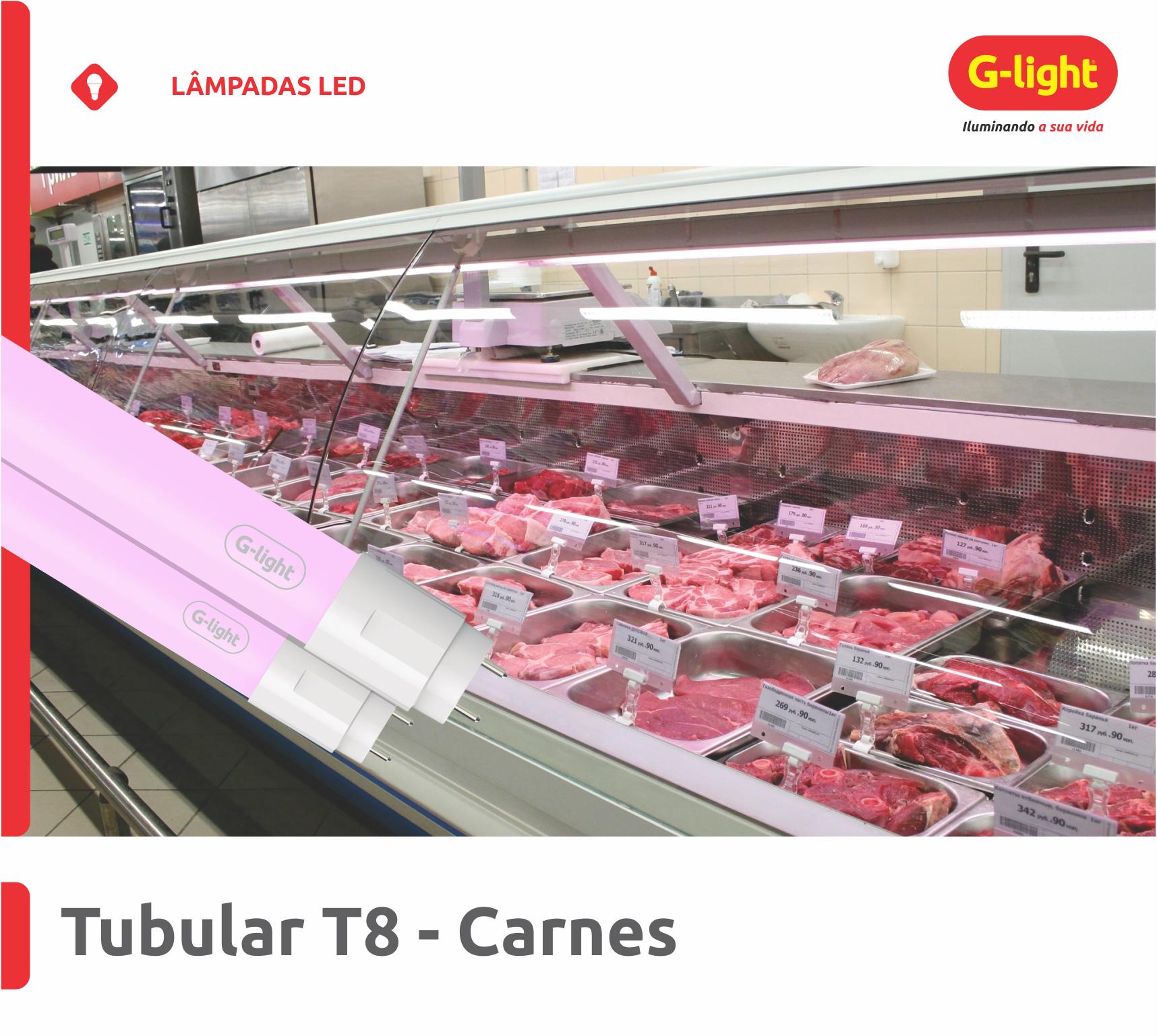 Tubular T8 Especial - Carnes
