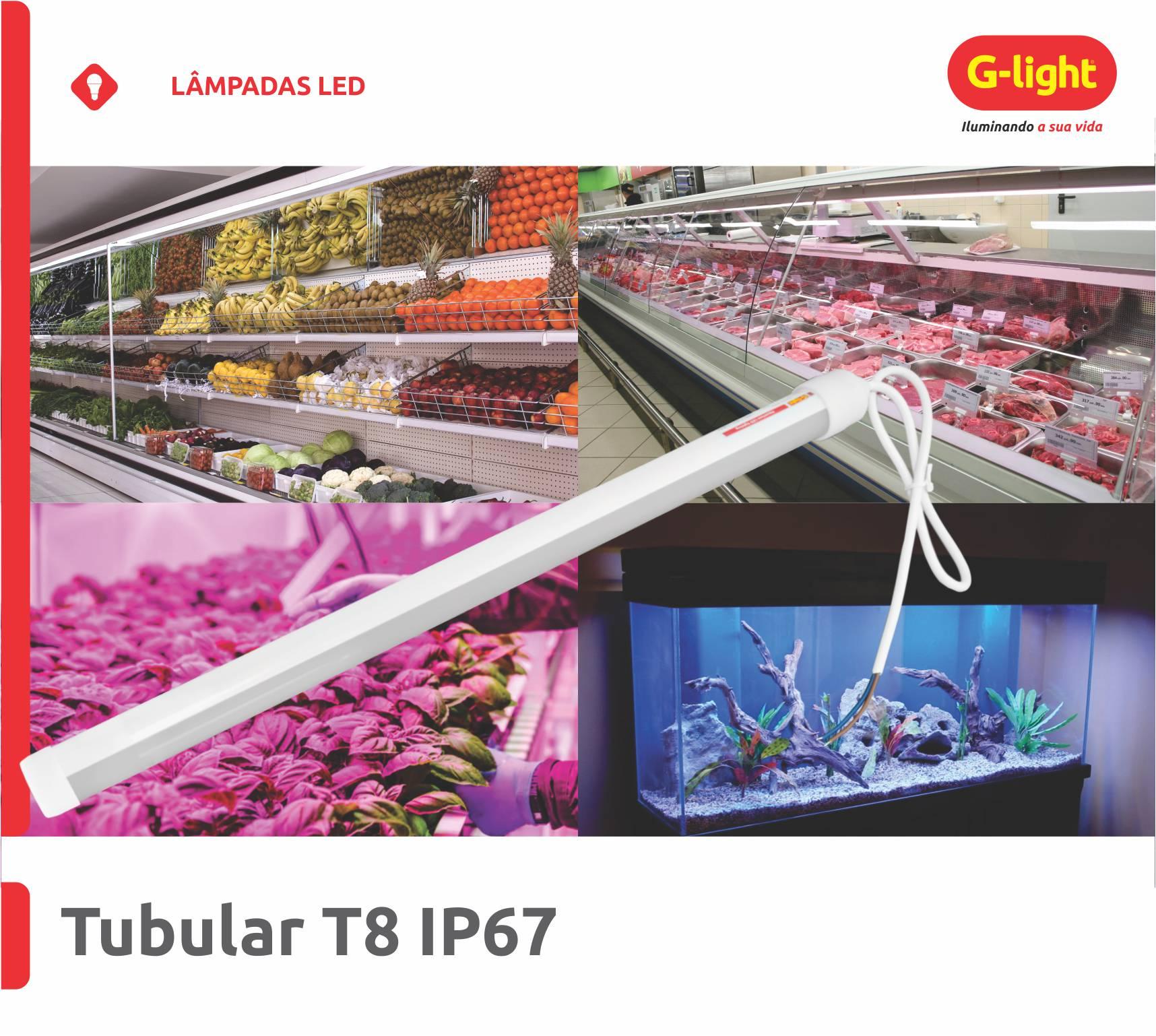 TUBULARES T8 LED IP67