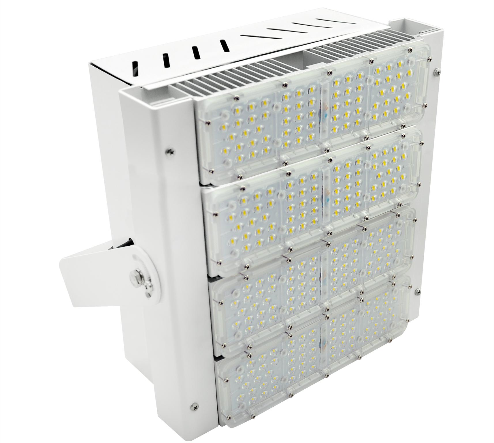 REFLETOR LED 200W MODULO DC COM DPS 4X50 90° 5000K 150LM/W ALUMINIO AUTOVOLT BRANCA