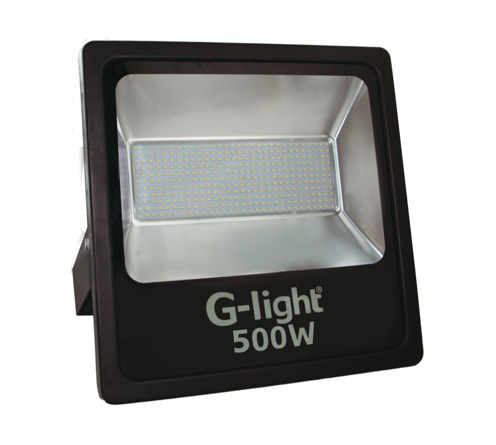 Refletor Slim LED 6500K 500W 120 AUTOVOLT