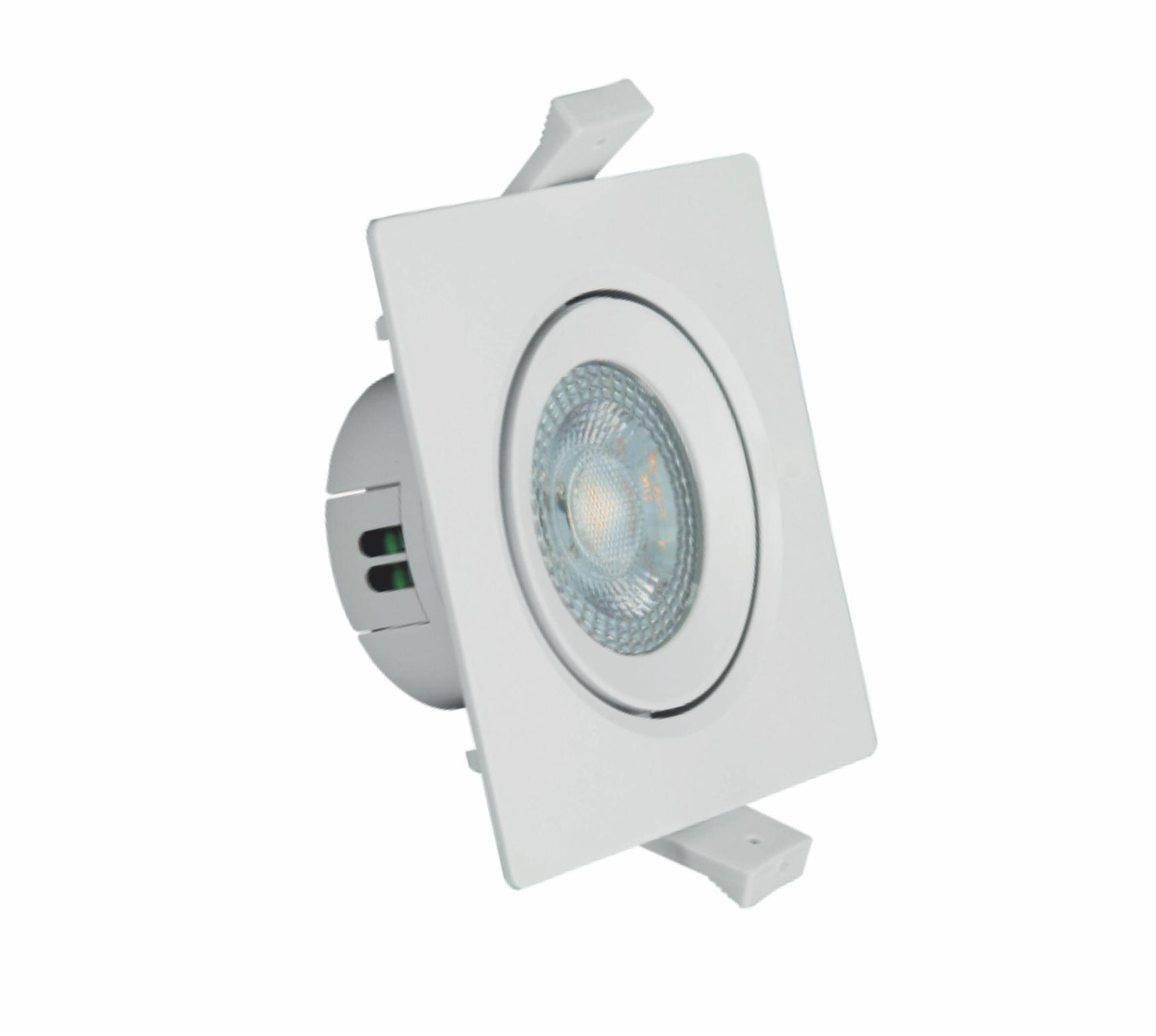 Spot LED Quadrado PAR30 12W 3000K Branco AUTOVOLT