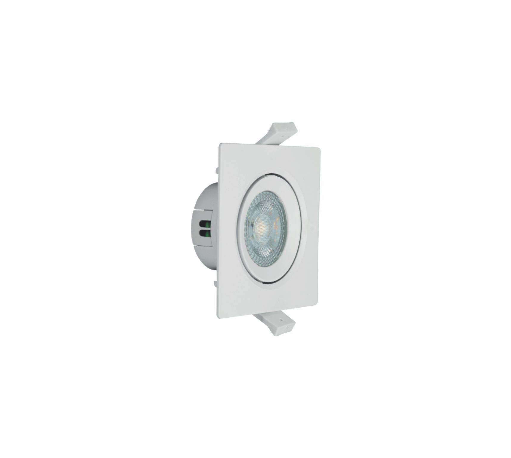 Spot LED Quadrado 4W 6500K Branco AUTOVOLT