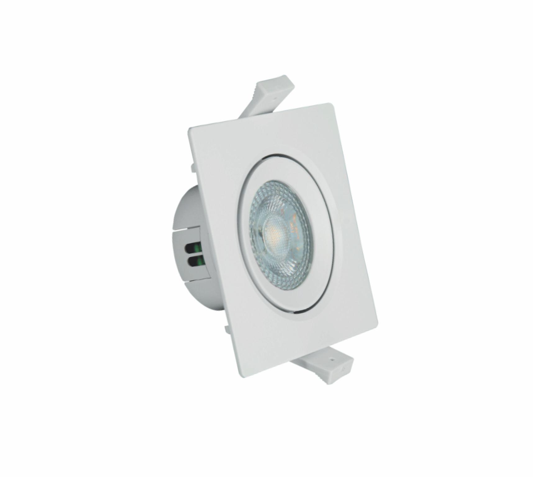 Spot LED Quadrado PAR20 8W 6500K Branco AUTOVOLT